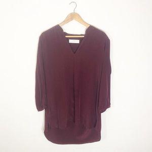 Amanda Uprichard 100% Silk Blouse Size L